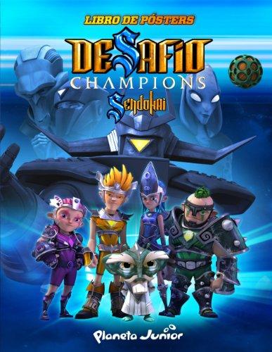 9788408128700: Desafío Champions Sendokai. Libro de pósters