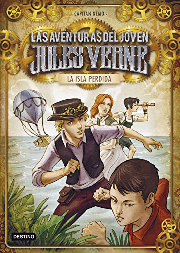 9788408140153: La isla perdida: Las aventuras del joven Jules Verne y cia. 1