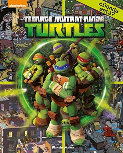 9788408144892: Las Tortugas Ninja. ¿Dónde está?