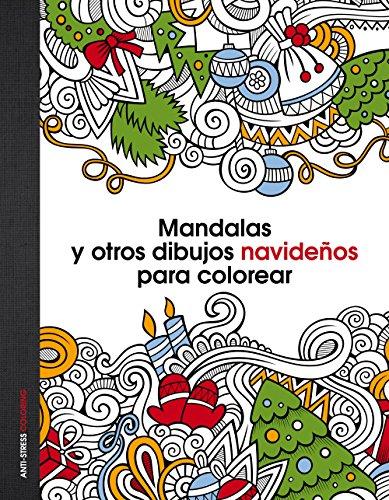 9788408147060: Mandalas y otros dibujos navideños para colorear