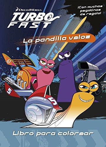 9788408149767: Turbo Fast. Libro para colorear