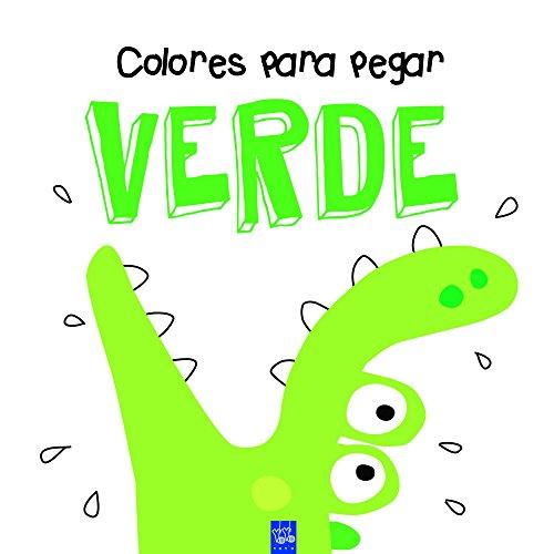 9788408164326: Colores para pegar. Verde