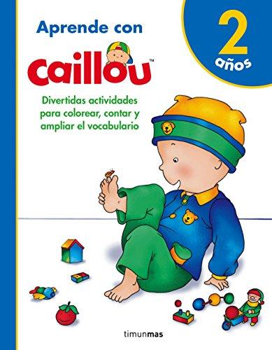 9788408171799: Aprende con Caillou 2 años