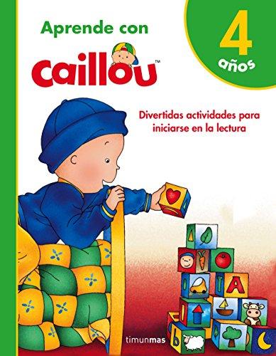 9788408171812: Aprende con Caillou 4 años