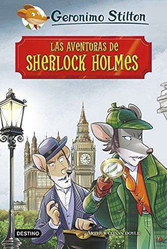 9788408195023: Las aventuras de Sherlock Holmes (Grandes historias Stilton)