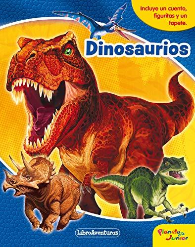 9788408218142: Dinosaurios. Libroaventuras: Incluye un cuento, figuritas y un tapete
