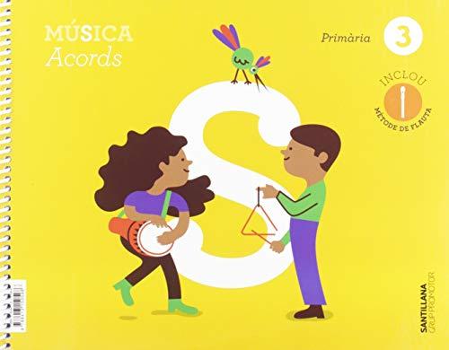 9788413150598: MUSICA ACORDS 3 PRIMARIA