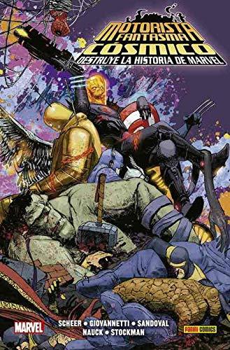 9788413341279: El Motorista Fantasma Cósmico destruye la Historia de Marvel