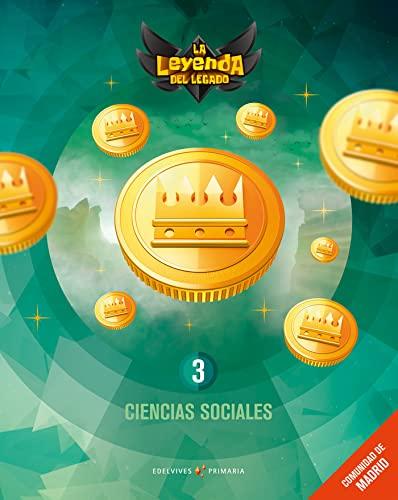 9788414014301: Proyecto: La leyenda del Legado. Ciencias sociales 3 : Comunidad de Madrid