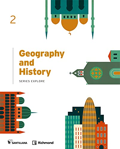Geography and history, 2 secondary, standard book, explore (Paperback)