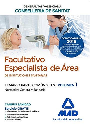 FACULTATIVO ESPECIALISTA DE ÁREA DE LAS INSTITUCIONES: MOLADA LOPEZ, Mª