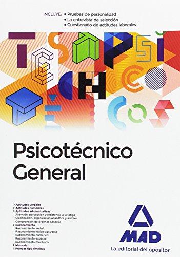 9788414201114: Psicotécnico General.