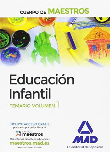 9788414201152: Cuerpo de Maestros Educación Infantil. Temario volumen 1