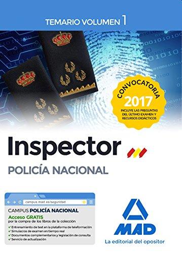 9788414206225: Inspector de Policía Nacional. Temario Volumen 1