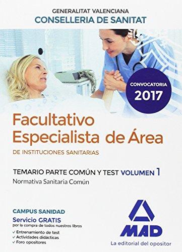 FACULTATIVO ESPECIALISTA DE ÁREA DE LA CONSELLERIA: 7 EDITORES ;