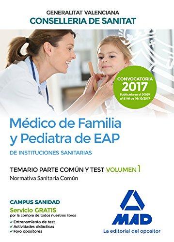 Médico de Familia y Pediatra de EAP: Editores, 7; Molada