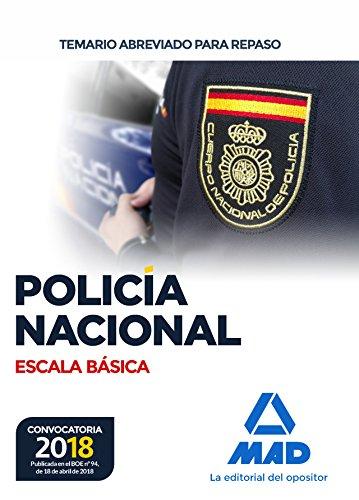 9788414214510: Policía Nacional Escala Básica. Temario abreviado para repaso