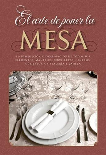 9788415003014: El arte de poner la mesa