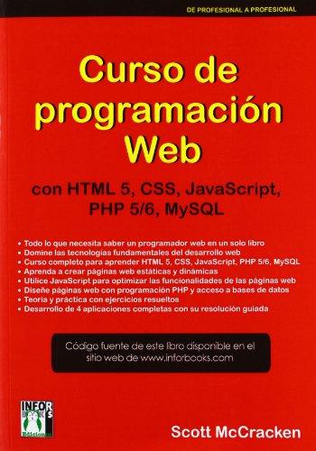 9788415033370: CURSO DE PROGRAMACION WEB: CON HTL5, CSS, JAVASCRIPT, PHP 5/6 Y MYSQL