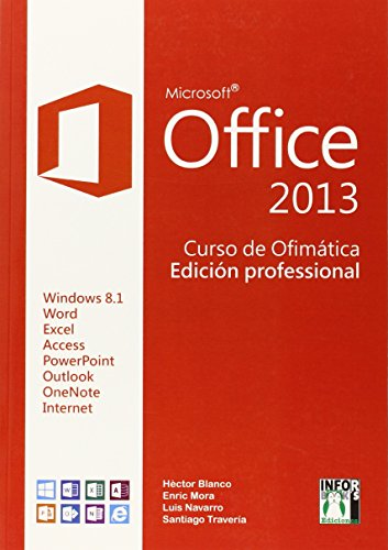 9788415033769: Office 2013 Curso de Ofimática
