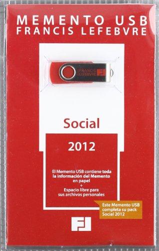 9788415056980: (usb) 2012 Memento Social (Mementos Practicos)