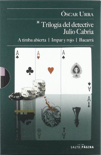 9788415065197: TRILOGIA DEL DETECTIVE JULIO CABRIA