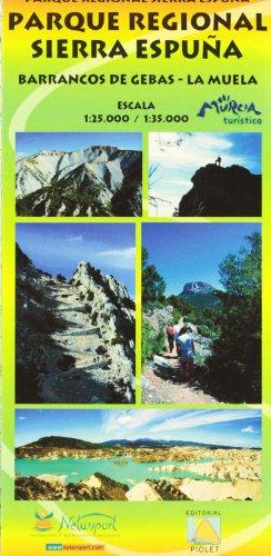 9788415075608: Parque Regional Sierra Espuña. Barrancos De Gebas. Las Muelas