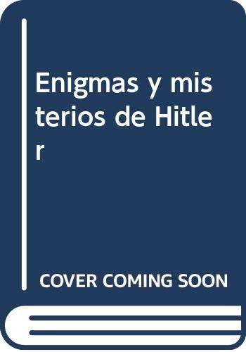 9788415083757: Enigmas y misterios de Hitler