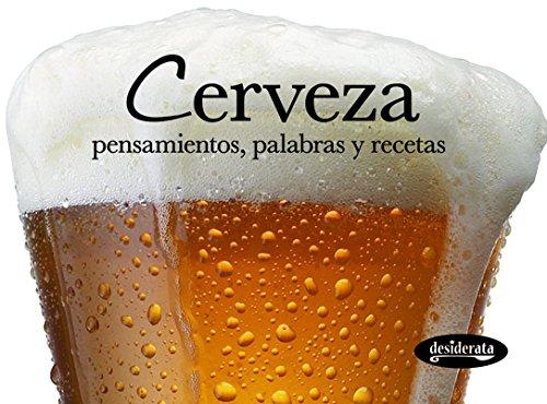 9788415094104: Cerveza: Pensamientos, palabras y recetas (Minisabores)