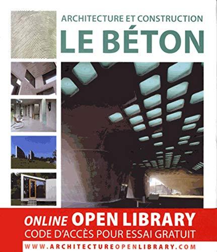 9788415123804: Architecture et construction : le b�ton