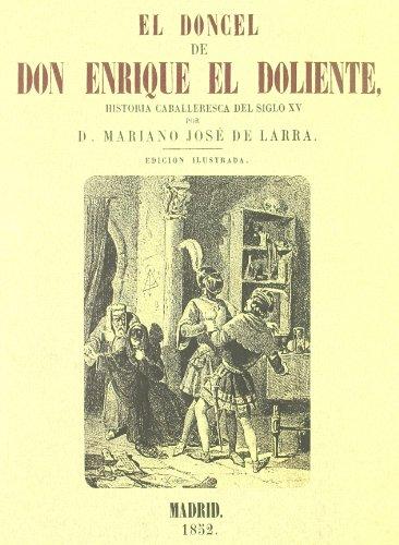 9788415131106: EL DONCEL DE DON ENRIQUE EL DOLIENTE