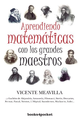 9788415139171: Aprendiendo Matematicas con los Grandes Maestros / Learning Mathematics with the Great Masters