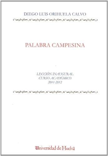 9788415147428: Palabra campesina (Aldina)