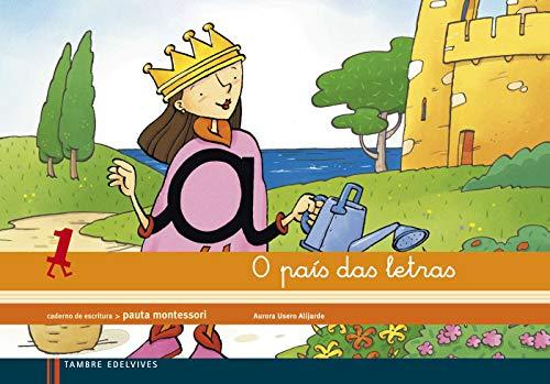 9788415165859: Caderno de escritura Pauta Montesori 1: O País das letras