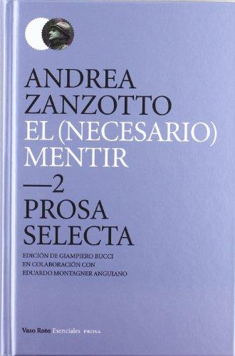 9788415168300: Necesario Mentir, El (Esenciales (vaso Roto))
