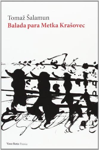 9788415168652: Balada para Metka Kra?ovec