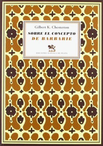 9788415177616: Sobre el concepto de barbarie: seguido de Cartas a un viejo garibaldino (Literatura Universal)