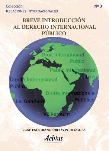 9788415209645: Breve introducción al derecho internacional público
