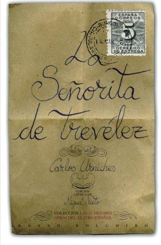 9788415211747: La señorita de Trevélez