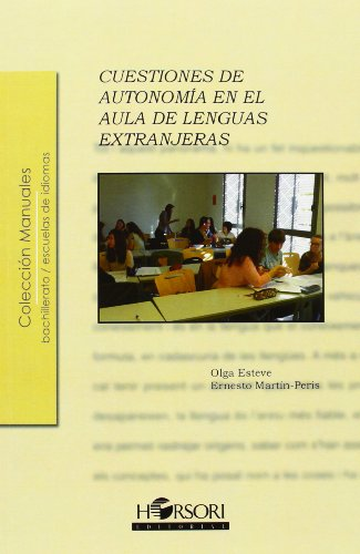 9788415212164: Cuestiones De Autonomía En El Aula De Lenguas Extranjeras (Manuales (horsori))