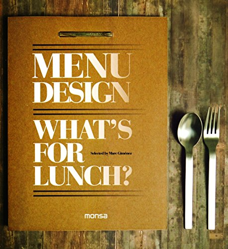 9788415223375: Menu Design: What's for Lunch?