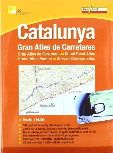 9788415237105: Gran Atles De Carreteres De Catalunya (MAPES CARRETERES)