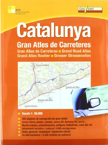 9788415237105: Catalunya Road Atlas: GEOESTEL.A020