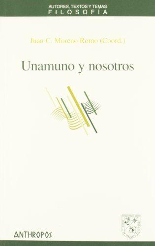 Unamuno y nosotros: Juan Carlos Moreno