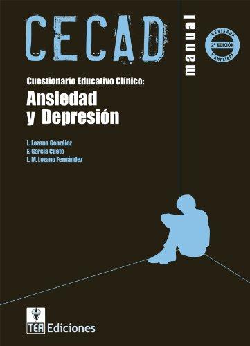 9788415262206: CECAD, Custionario Educativo Clínico: Ansiedad y Depresión