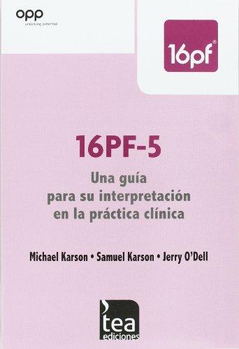 9788415262350: 16PF-5, Una guía para su interpretación en la práctica clínica