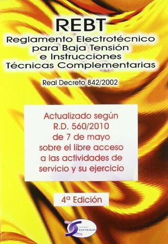 9788415270003: Reglamento electrotecnico para baja tension e instrucciones tecnicas