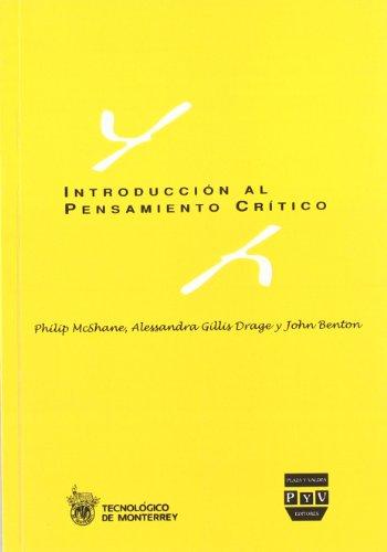 9788415271383: INTRODUCCION AL PENSAMIENTO CRITICO