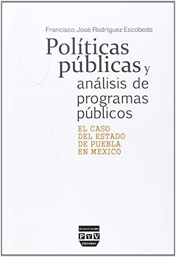 Politicas publicas y analisis de programas: n/a