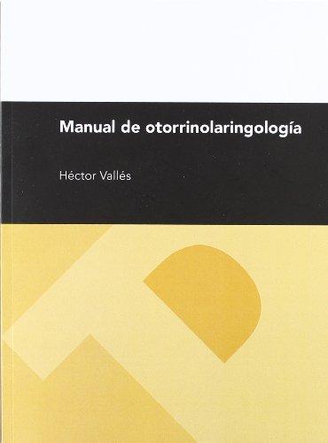 9788415274353: Manual de otorrinolaringología (Textos Docentes)